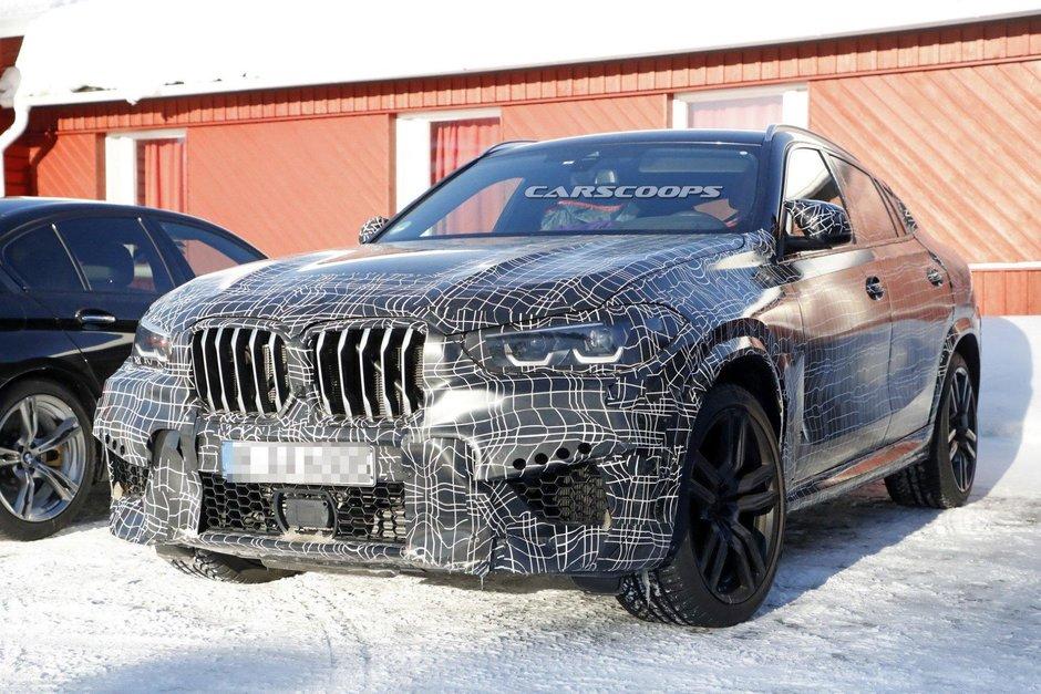 Noul BMW X6 M - Poze spion