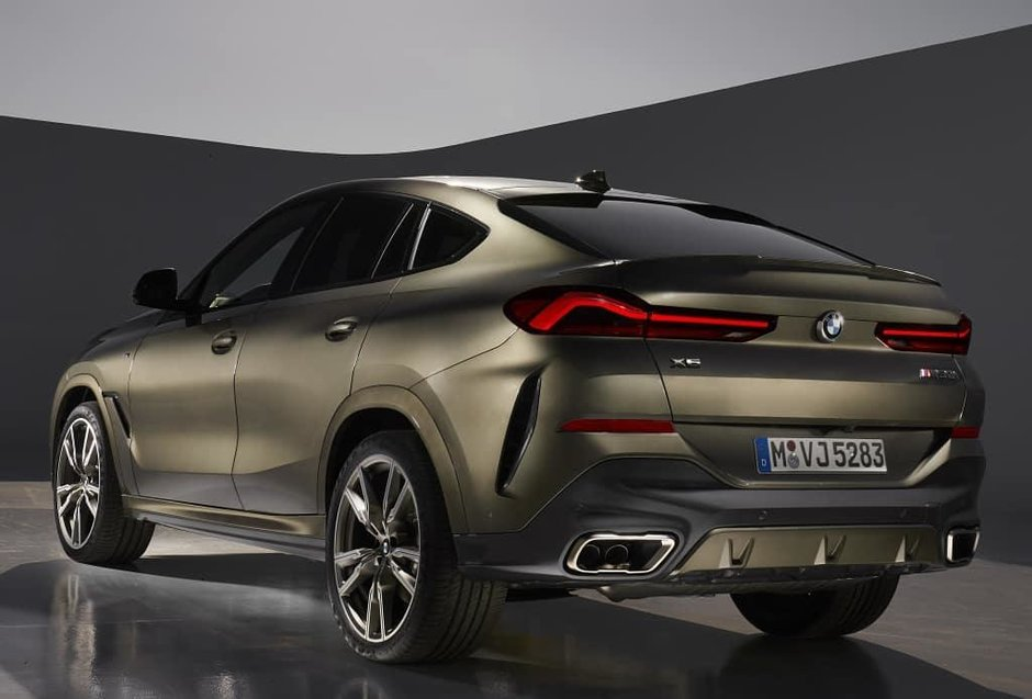 Noul BMW X6 - Primele poze