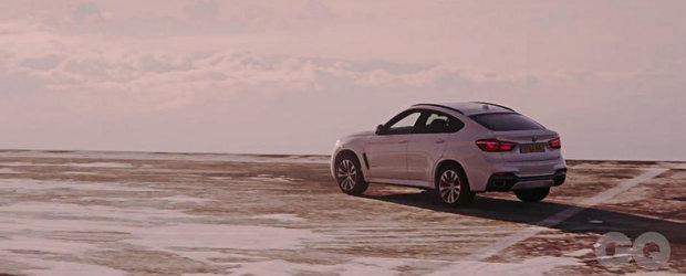 Noul BMW X6 urca vulcanul Etna pentru un promo de exceptie
