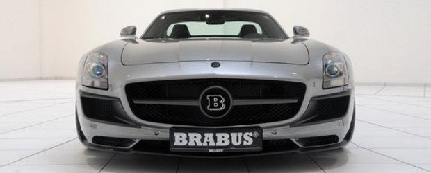 Noul Brabus 700 Biturbo este un apetisant Mercedes SLS AMG cu motor V8 biturbo!