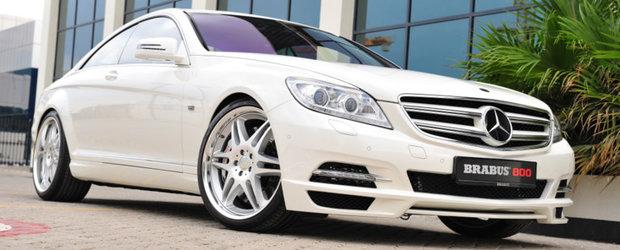 Noul Brabus 800 Coupe este cel mai puternic si mai rapid coupe de lux din lume!