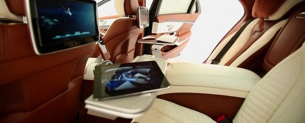 Noul BRABUS 850 iBusiness sau Cum arata limuzina suprema