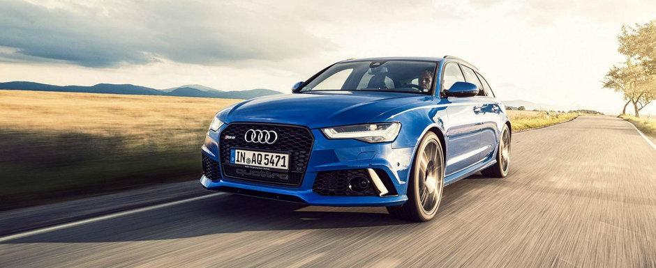 Noul break de la Audi nu are rival in lume. Vine cu 705 CP din fabrica!