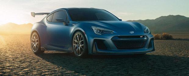 Noul BRZ STI Performance e cel mai tare Subaru pe care nu-l poti cumpara