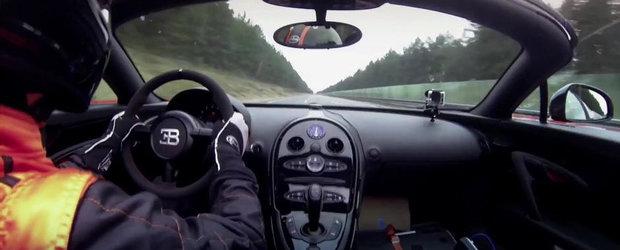 Noul Bugatti Grand Sport Vitesse WRC accelereaza pana la 408.84 kilometri pe ora. VIDEO AICI!