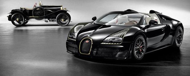Noul Bugatti Legend Black Bess elogiaza iconicul Type 18 cu aur si carbon