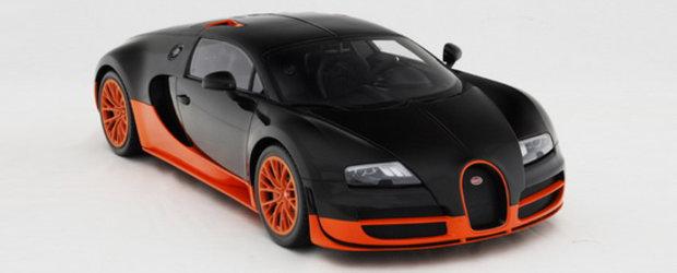 Noul Bugatti Veyron Supersport poate fi al tau pentru doar 4.800 euro!