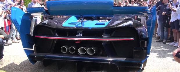 Noul Bugatti Vision GT, asa cum nu l-ai mai vazut niciodata. Imagini incredibile cu masina din care s-a nascut Chiron