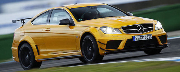 Noul C63 AMG Coupe Black Series strabate 'Ring-ul in doar 7 minute si 46 secunde
