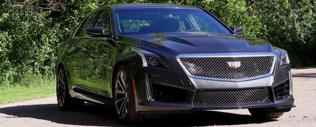 Noul Cadillac CTS-V se anunta un concurent serios pentru tripla Audi RS6 / BMW M5 / Mercedes E63