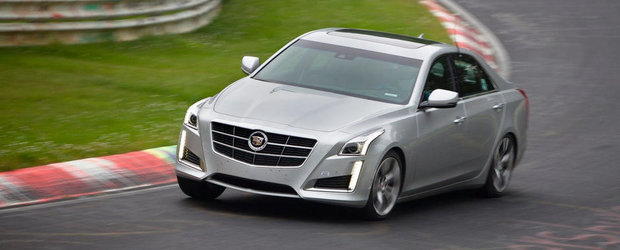 Noul Cadillac CTS VSport, la fel de rapid la Nurburgring precum un BMW M5