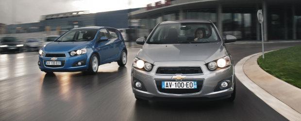 Noul Chevrolet Aveo imbina manevrabilitatea dinamica, designul proaspat si confortul spatios