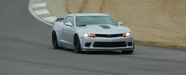 Noul Chevrolet Camaro Z/28 impresioneaza cu performantele sale pe circuit