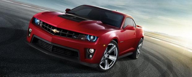 Noul Chevrolet Camaro ZL1 este cel mai puternic Camaro pe care banii il pot cumpara