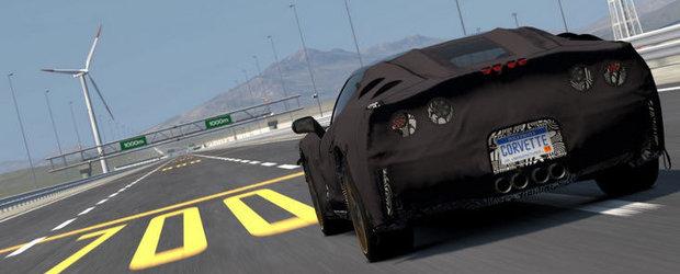 Noul Chevrolet Corvette C7 poate fi deja testat! Momentan doar in Gran Turismo 5