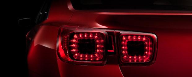 Noul Chevrolet Malibu este gata pentru premiera internationala