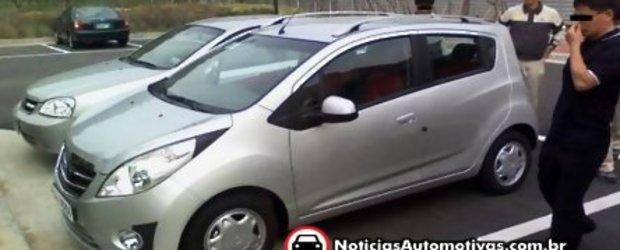 Noul Chevrolet Spark, prins dezbracat