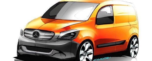 Noul Citan - Autovehiculul comercial usor cu destinatie urbana  de la Mercedes-Benz