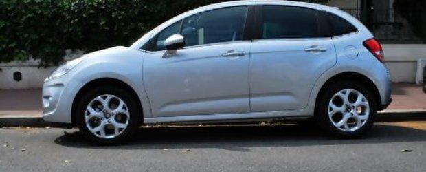 Noul Citroen C3, fotografiat pe strada