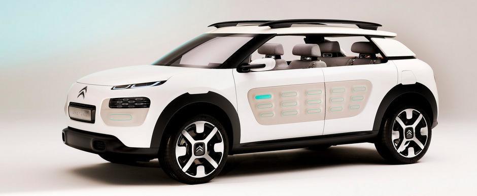 Noul Citroen C4 Cactus va pastra design-ul conceptului prezentat la Frankfurt