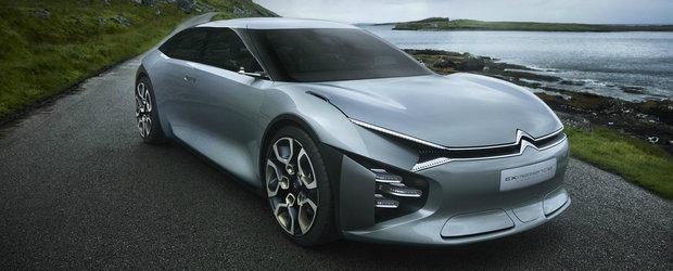 Noul Citroen C5 va imprumuta design-ul conceptului Cxperience