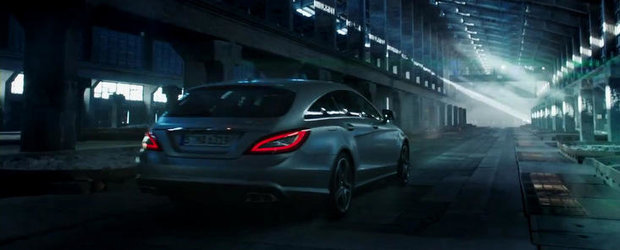 Noul CLS63 AMG Shooting Brake primeste primul sau promo, arata si suna glorios