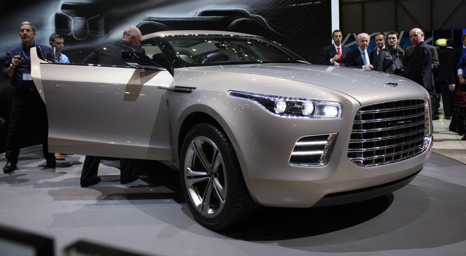 Noul concept Aston Martin Lagonda anulat in favoarea modelului Rapide