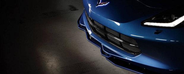 Noul Corvette Stingray imbraca o costumatie speciala pentru SEMA 2014