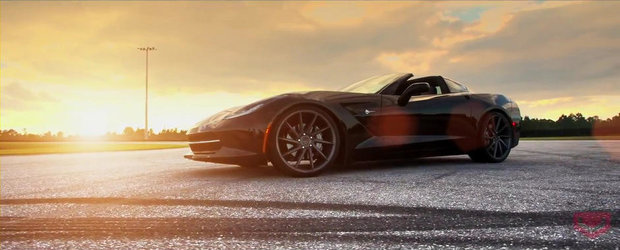 Noul Corvette Stingray primeste un rol in productia Vossen Wheels