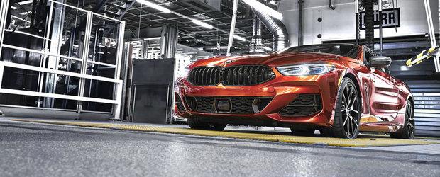 Noul COUPE de lux al bavarezilor de la BMW a intrat pe linia de productie. Preturile incep de la 100.000 de euro