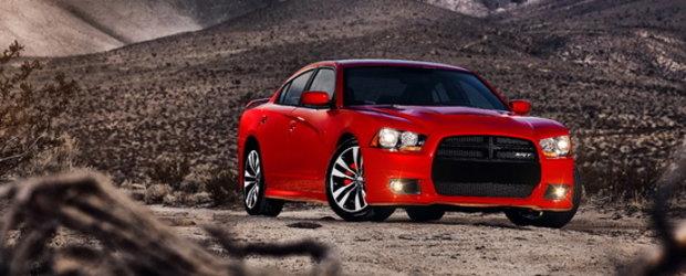 Noul Dodge Charger SRT8 arata infricosator, ascunde un 6.4 litri sub capota!