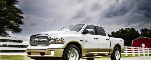 Noul Dodge Ram 1500 consuma 13.1 l / 100 km