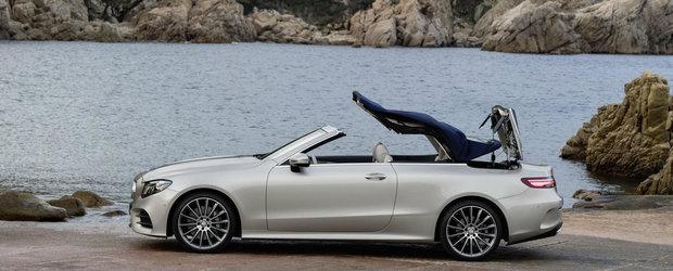 Noul E-Class Cabriolet este disponibil de-acum si in Romania. Pentru ce pret vei calatori cu vantul in plete
