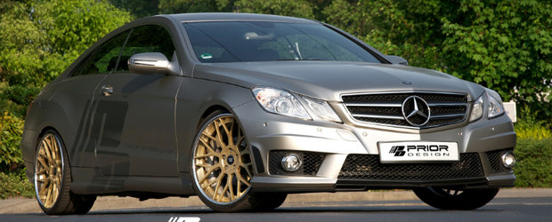 Noul E-Class Coupe by Prior Design reprezinta perfectiunea la superlativ