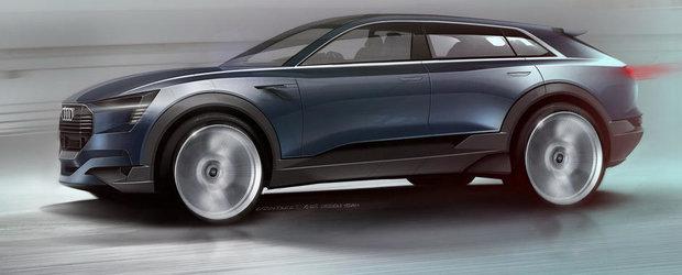 Noul e-tron quattro concept anticipeaza primul Audi SUV complet electric