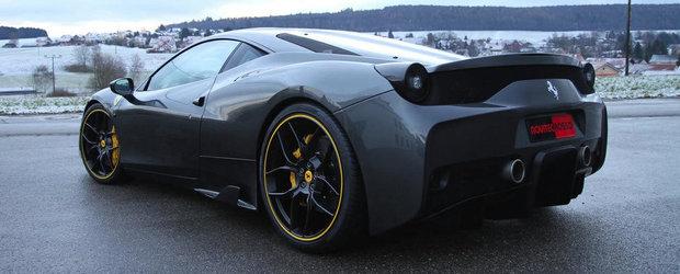 Noul Ferrari 458 Speciale se lauda cu 622 CP, multumita Novitec Rosso