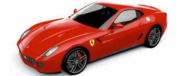 Noul Ferrari 599 GTB 60F1 celebreaza 60 de ani de victorii in Formula 1