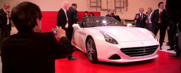 Noul Ferrari California T, lansat cu surle si trambite in Modena