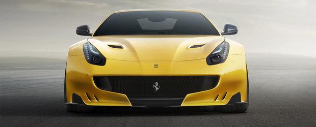 Noul Ferrari F12tdf debuteaza oficial, ofera 780 CP si directie integrala