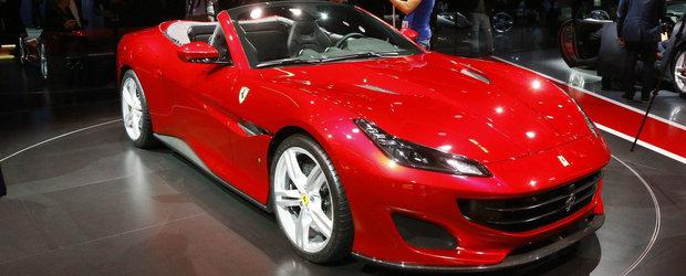 Noul Ferrari Portofino straluceste la Frankfurt. Primele POZE REALE cu decapotabila italienilor