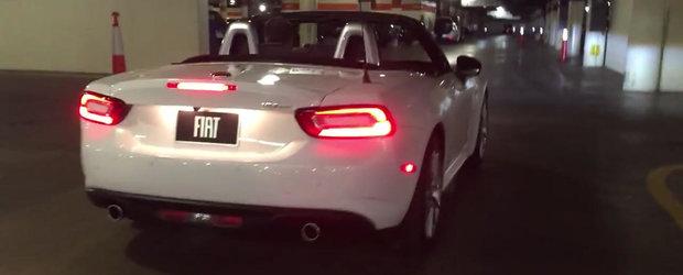 Noul Fiat 124 Spider ne invita sa-i ascultam motorul turbo