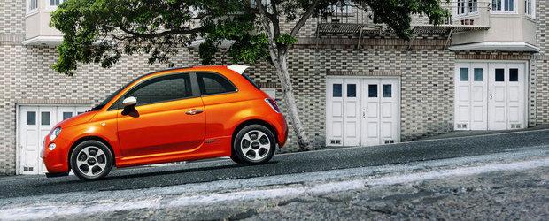 Noul Fiat 500e, disponibil la vanzare pe piata din SUA
