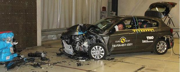 Noul Fiat Tipo e la fel de sigur ca un Logan: numai 3 stele la testele Euro NCAP