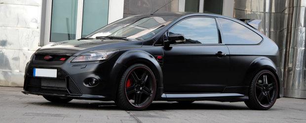 Noul Focus RS by Anderson Germany este un hot-hatch sinistru de peste 400 cai putere