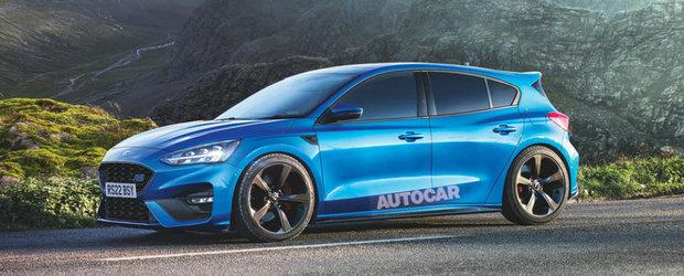 """""""Noul Focus RS va avea cutie CVT si va fi full-hybrid!"""" Scenariul de care fanii Ford nici nu vor sa auda"""