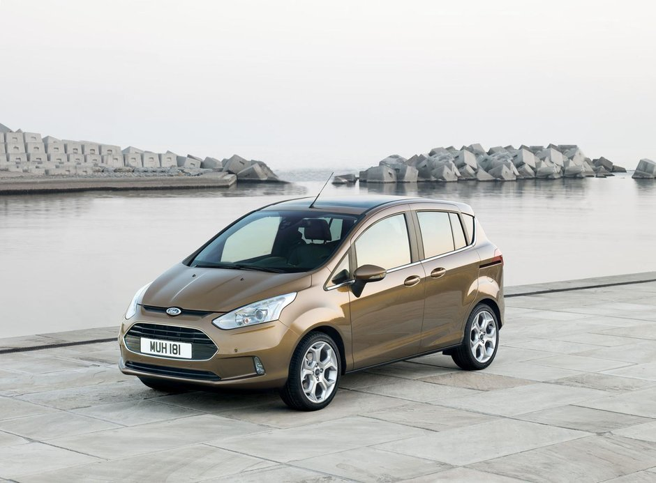 Noul Ford B-MAX costa 12.995 lire sterline in Marea Britanie