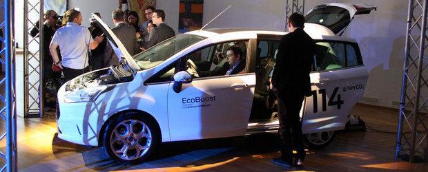 Noul Ford B-Max costa 13.400 euro in Romania