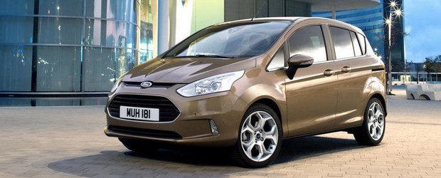 Noul Ford B-Max - Prezentare in detaliu