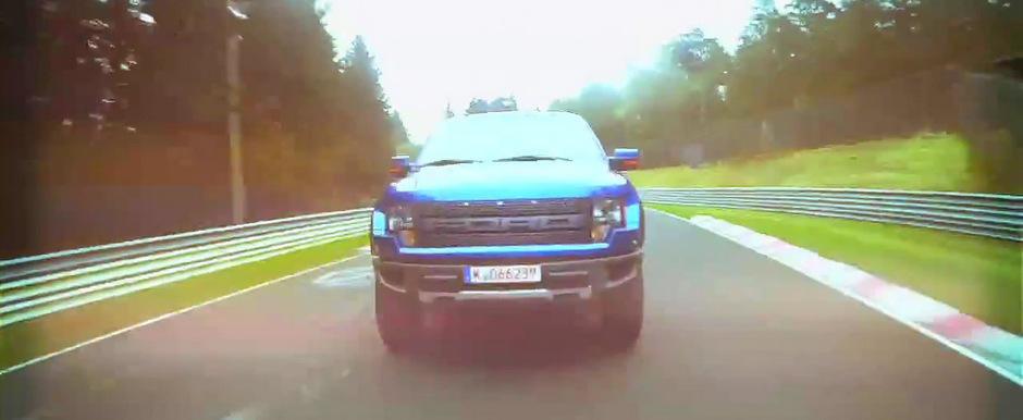 Noul Ford F-150 SVT Raptor debarca la Nurburgring. VIDEO AICI!