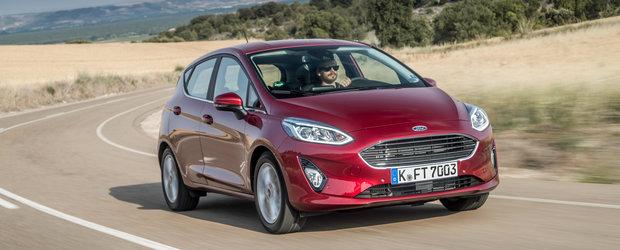 Noul Ford Fiesta debuteaza pe piata din Romania. Uite ce iti ofera pentru 11.900 de euro